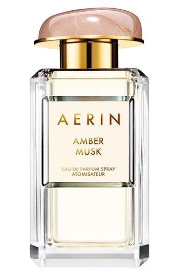 Aerin - Amber Must The sensual scent of Amber Musk by AERIN Beauty blends a hint of florals with distinctive amber and creamy musk for a warm, seductive fragrance. Notes:- Top: ambrox/- Middle: coconut water, rose centifolia absolute/- Base: benzoin, musk.