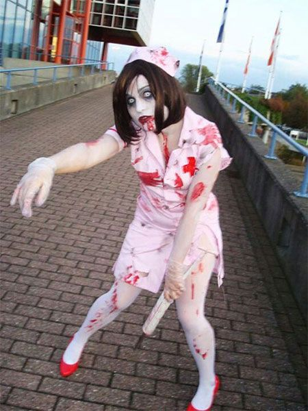 Cool  Scary Halloween Costume Ideas For Girls  Women 2013/ 2014