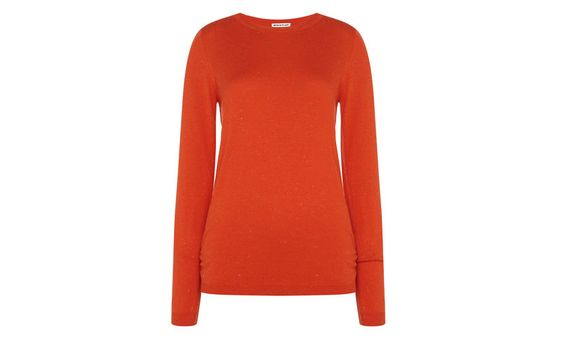 $120 Annie Sparkle Knit, Red | WHISTLES