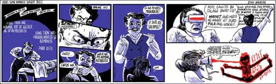 Philippines Comics: Kampilan, Rizal's Super Advanced Surgery Skillz, 2013