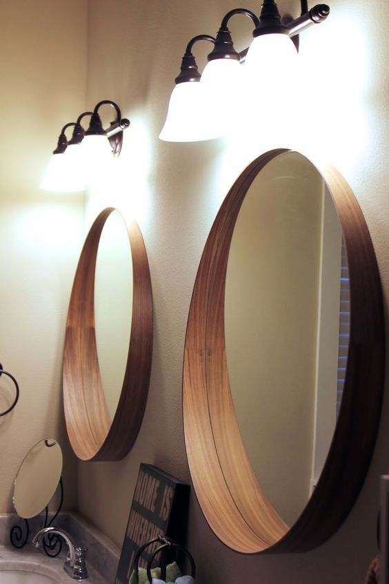 Our bedroom tour the ikea stockholm mirror makes for - Tablette salle de bain ikea ...