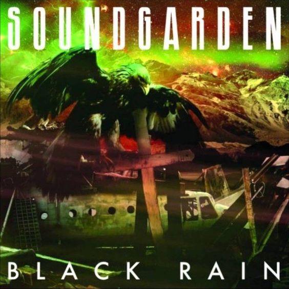 Soundgarden – Black Rain (single cover art)