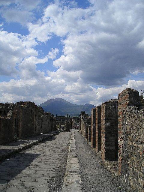 Pompei to Vesuvius, Italy