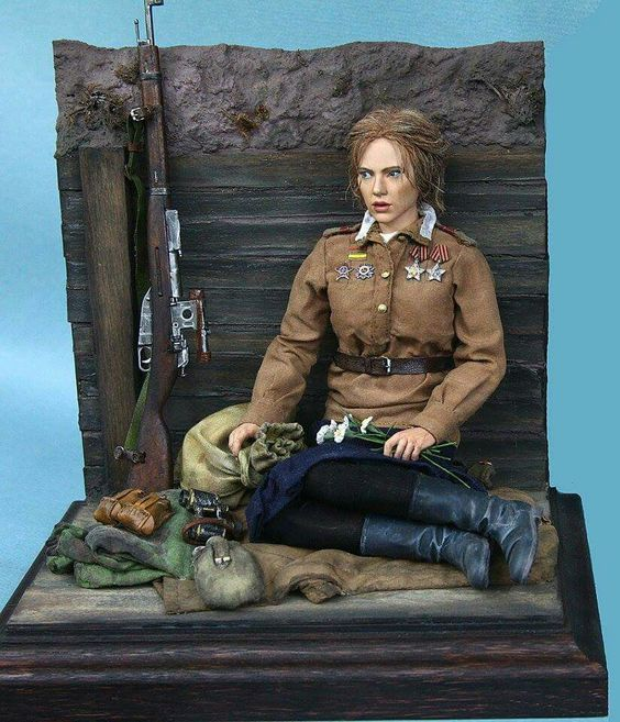 Red Army sniper | Scale Models | Pinterest | Snipers, Red ...