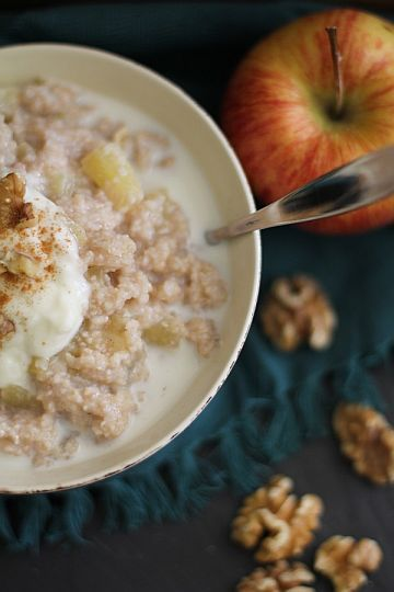 Apple Cinnamon Walnut Brown Rice Farina | Bob's Red Mill: