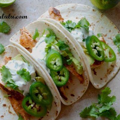 Salmon Tacos with Jalapeno Sauce Recipe - Key Ingredient