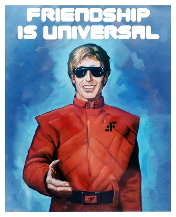 Visitor Propaganda Poster - V: The Original Miniseries (1983)