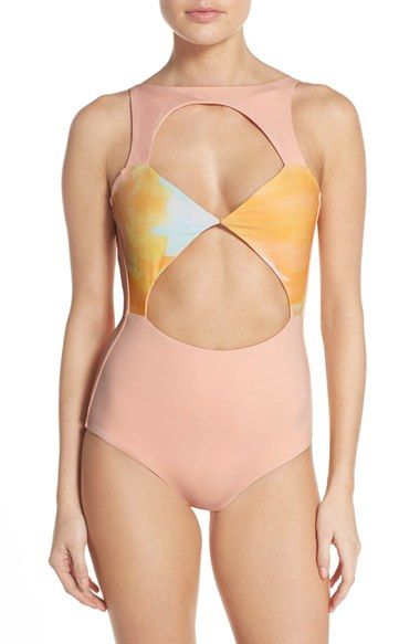 Boys + Arrows 'Champagne Charmaine' One-Piece Swimsuit: