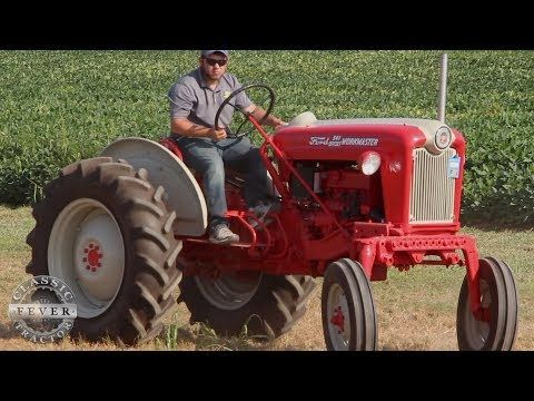 This Ford Was For Vegetable Farming Ford Workmaster 541 Offset Tractor Classic Tractor Fever Youtube Classic Tractor Tractors Ford Tractors