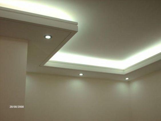 Dise os techos interiores tablaroca - Plafones de techo ...