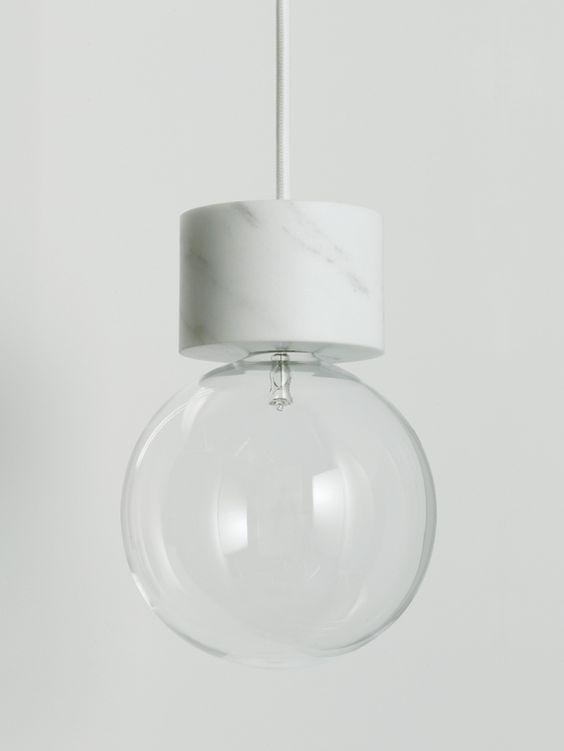 Marble lights by Studio Vit