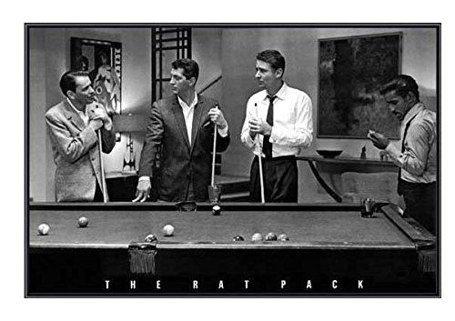 The Rat Pack Playing Pool Movie Canvas Modern Home Art ~ 5 Size