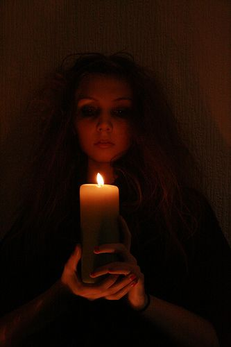 Witch And Candle: