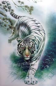 Gambar Harimau Putih : gambar, harimau, putih, Gambar, Sketsa, Harimau, Putih, Google, Search, Putih,, Lukisan,, Binatang