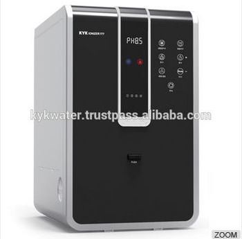 High Quality Alkaline Water Ionizer - KYK 707/Hot and cold water dispenser/5 Titanium mesh plate