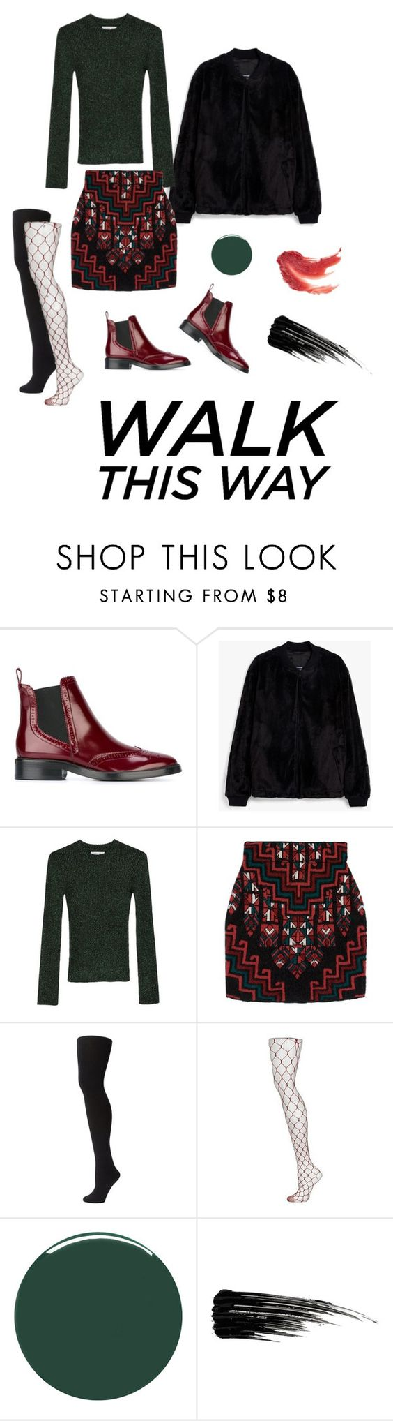 """""""Chelsea Boots"""" by thisiswhyri ❤ liked on Polyvore featuring Burberry, Apiece Apart, MARA, Plush, Topshop, Smith & Cult and Urban Decay"""