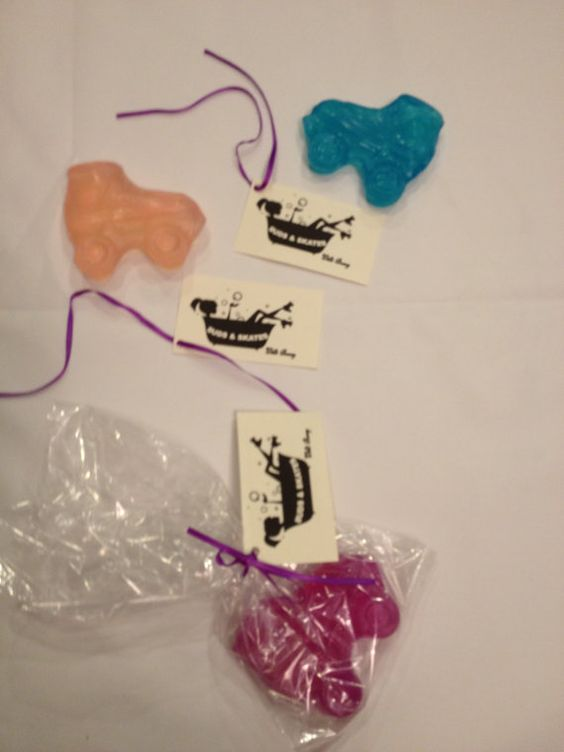 Rub a dub dub roller derby in the tub. Skate Soap by CloakeyDesigns on Etsy, $5.00