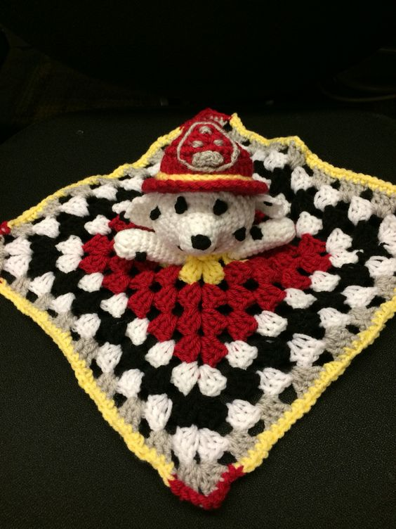 Crochet Patterns Paw Patrol : ... these ideas and more marshalls paw patrol crochet paw patrol marshall