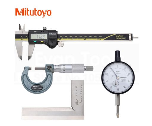 Enter this contest for your chance to win a Mitutoyo 4 pcs Machinist set. Valued at $150.00. Sign up today!
