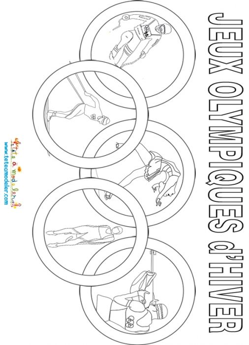 Coloriage Jeux Olympiques.Activites Sur Le Theme Des Jeux D Ete Avec Tete A Modeler