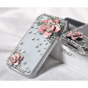 adorable iphone cover! so girly.. this stuff would totally break off in my purse tho...