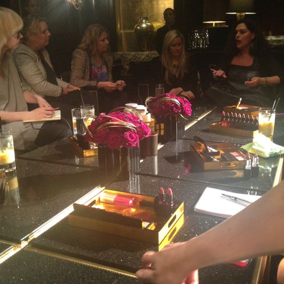 Laura Mercier talks through latest collections at The Savoy