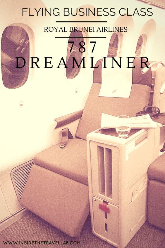 Flying Business Class Royal Brunei Airlines Dreamliner