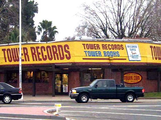 Tower Records, Sacramento, CA