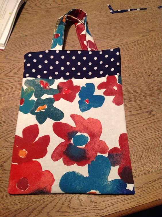 1st handmade bag
