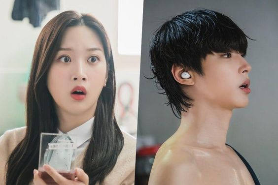 "Moon Ga Young Is Unexpectedly Shocked By Hwang In Yeob In ""True Beauty"""