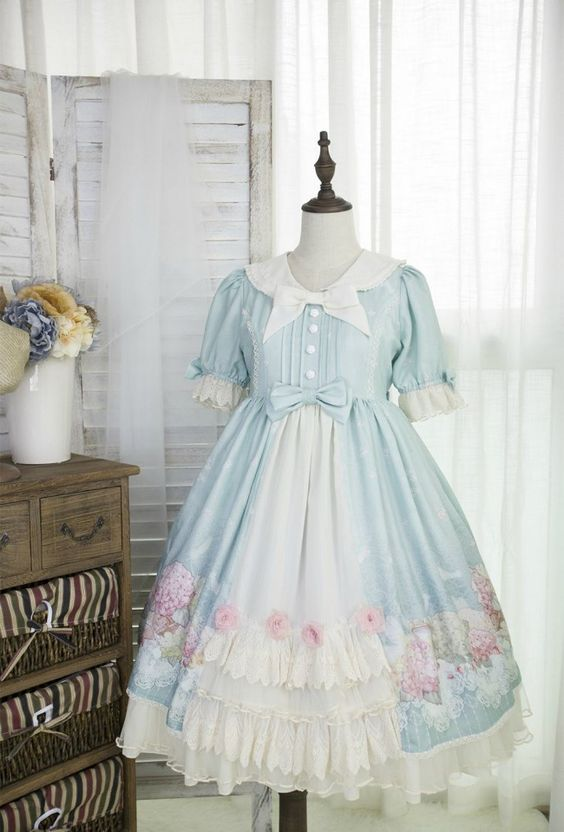 Equinox ~Summer Solstice~ Lolita OP Dress
