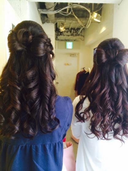 リボンアレンジ | 渋谷・道玄坂・明治通りの美容室 hair space COCO 渋谷店のヘアスタイル | Rasysa(らしさ)