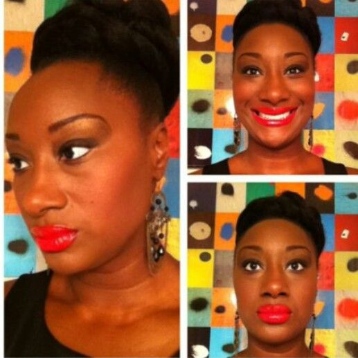 Protective style idea! All you need are bobby pins, Marley hair and a ponytail holder!