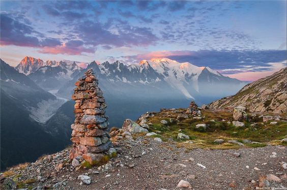 Mont Blanc is Western #Europe's highest #mountain.  Have you ever dreamed of climbing it?  If so, here is your #guide ;)