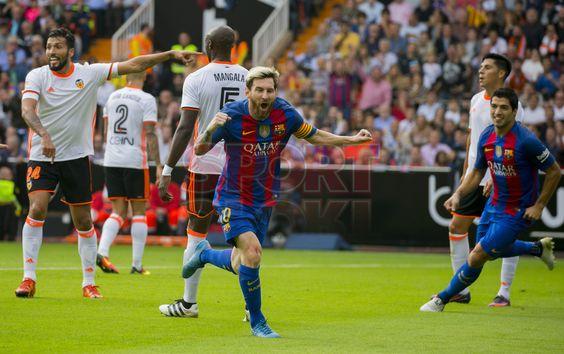 Las imágenes del Valencia, 2 - FC Barcelona, 3