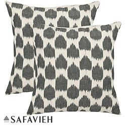 @Overstock.com - With a fresh, contemporary eye-catching pattern, these decorative pillows are a lovely addition to any decor. These throw pillows feature a contemporay design with a handwoven cotton cover.http://www.overstock.com/Home-Garden/Moments-18-inch-Charcoal-Grey-Decorative-Pillows-Set-of-2/5960953/product.html?CID=214117 $42.87