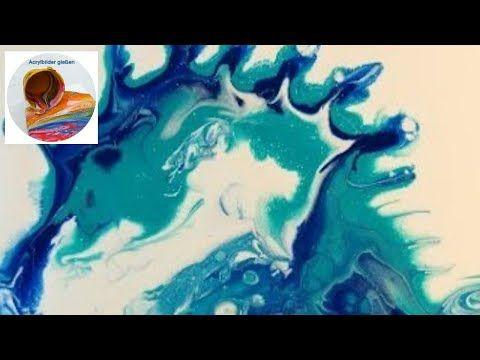 Youtube Seepferdchen Acrylmalerei Acryl