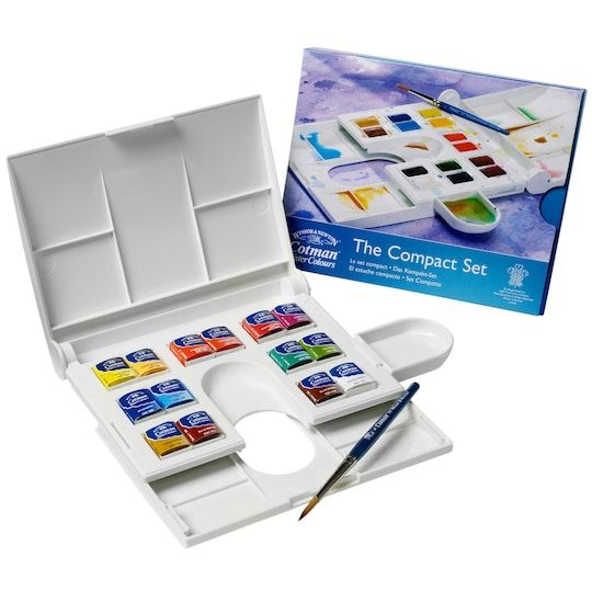 Winsor Newton Cotman Watercolor Compact Set In 2020