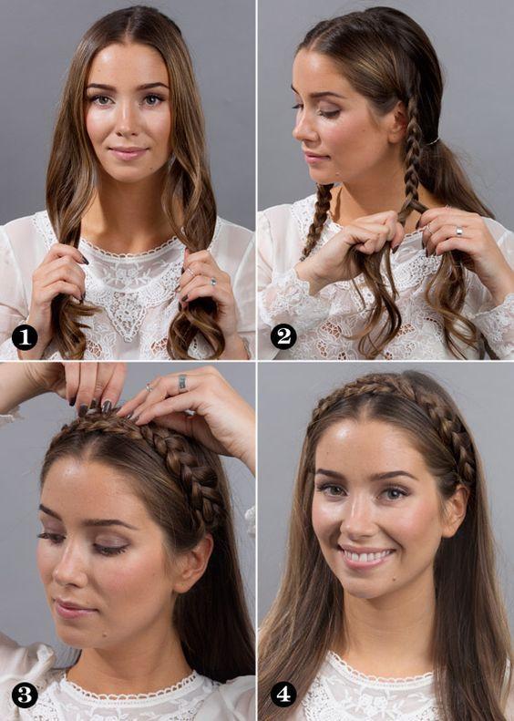 10 Peinados Mexicanos Que Son Realmente Faciles Y Modernos Peinados Con Trenzas Faciles Peinados Con Trenzas Peinados Poco Cabello