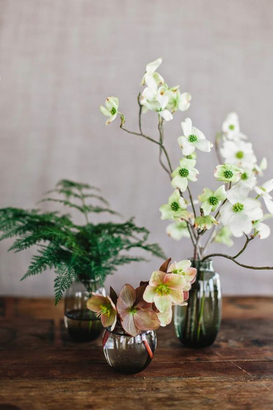 Spring bud vases by Sarah Winward, Honey of a Thousand Flowers