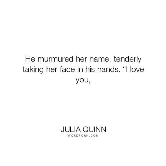 black hands love - Julia Quinn - \