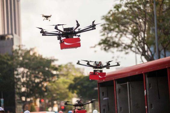 Coca-Cola reparte felicidad por medio de drones