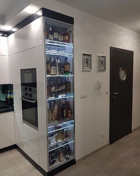 애매한 코너의 수납력을 높이는 아이디어 네이버 블로그 고급 주방 디자인 럭셔리 키친 모던 부엌 디자인