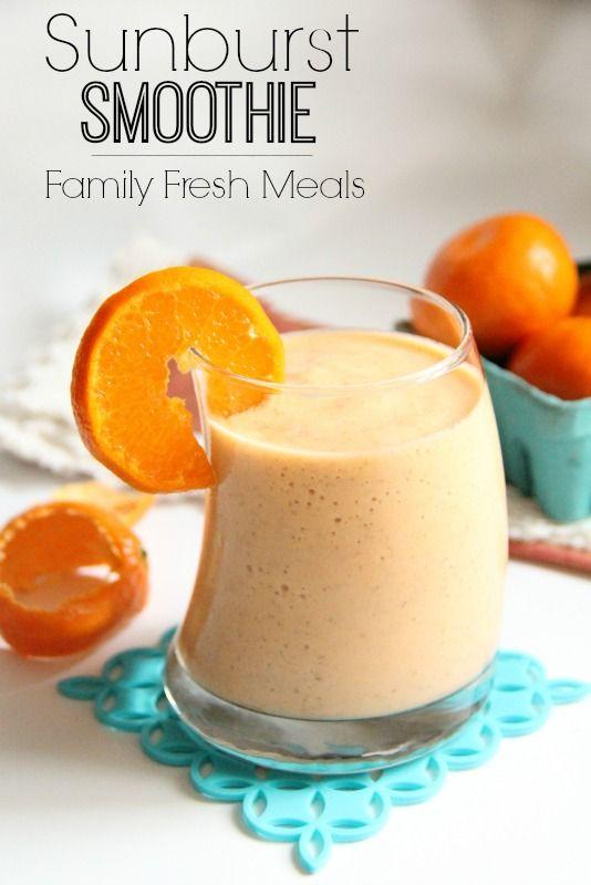 Sunburst Smoothie - FamilyFreshMeals.com