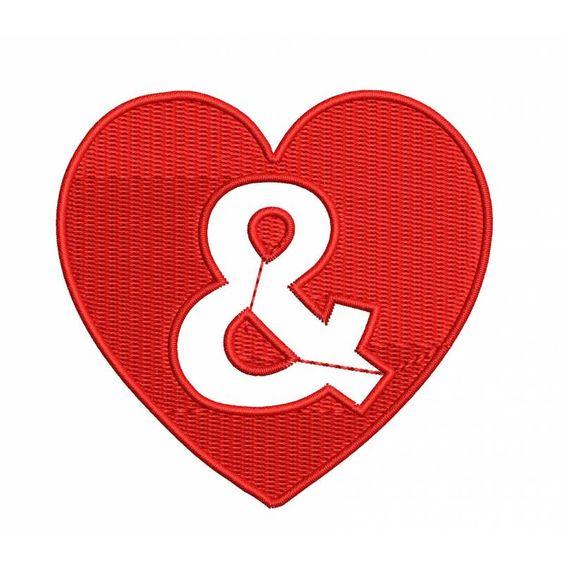 Heart Alpha And Symbol Design