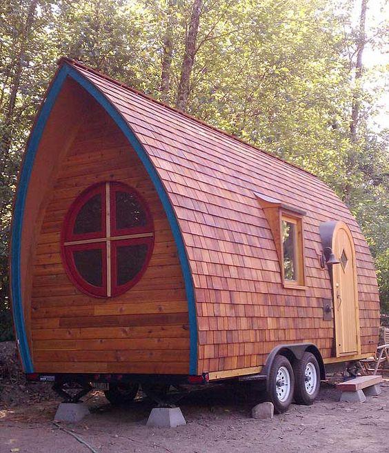 A portable home inspired by a gypsy vardo.