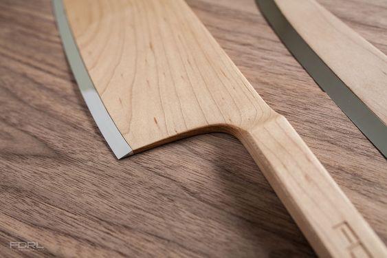 Facas de cozinha da Maple Wood