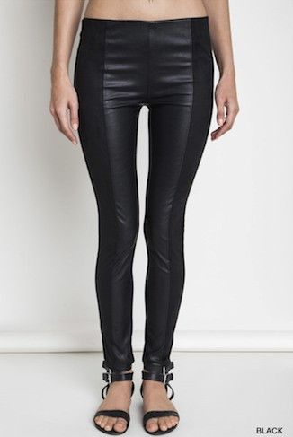 Suede leggings, Leggings and Leather on Pinterest