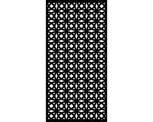 Sichtschutz Und Wanddekoelement Orbit Kunststoff 90 X 180 Cm