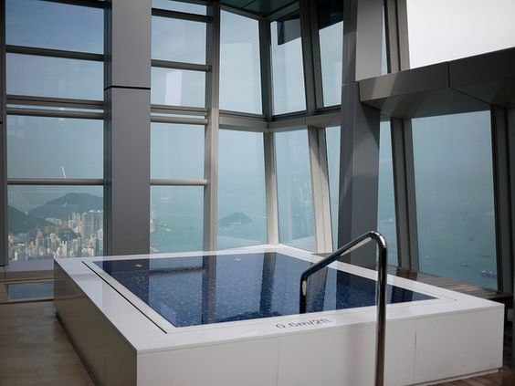 Ritz in Hong Kong...check out my other spa pins and visualize yourself there!